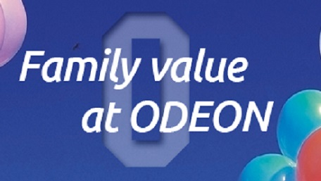 Odeon Luxe Family Ticket deal