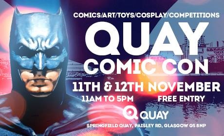 Comic Con comes to The Quay