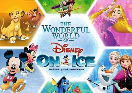 Win a family of 4 ticket to Disney On Ice