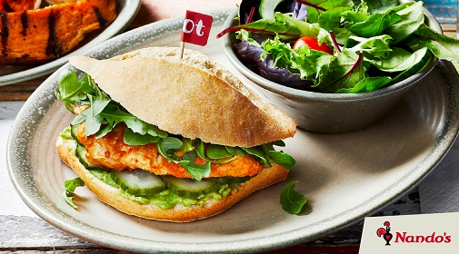 Introducing the Nando's Fresco Burger