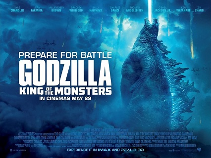 Win an exclusive Godzilla: King of the Monsters merchandise pack
