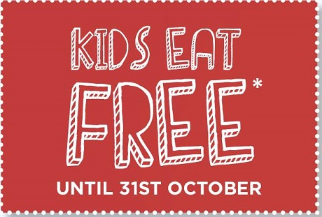 Kids eat free at Frankie & Benny's