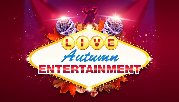 Live Autumn Entertainment at Alea Glasgow