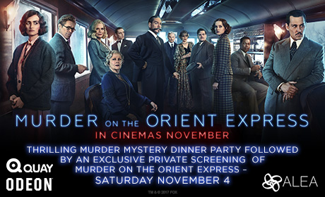 Murder Mystery and cinema tickets