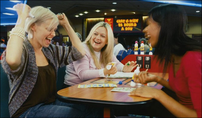 WIN a night of bingo and a main meal for 4 people