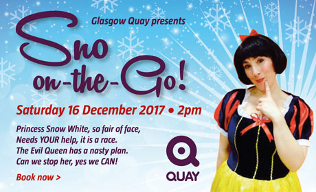 Sno on the Go Panto at Glasgow Quay