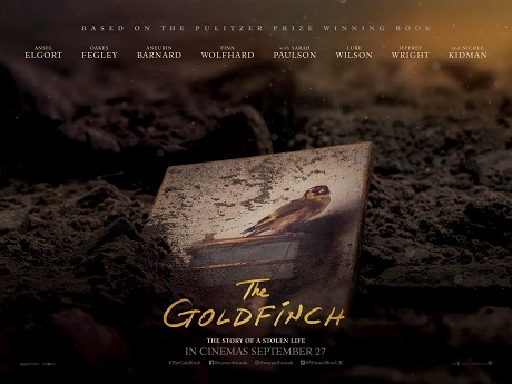 Win movie merchandise from The Goldfinch
