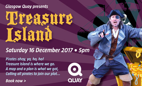 Treasure Island panto at Glasgow Quay