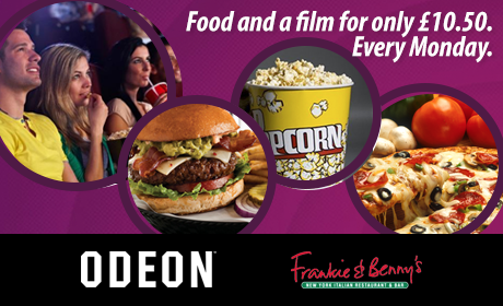 monday movie and meal deal update